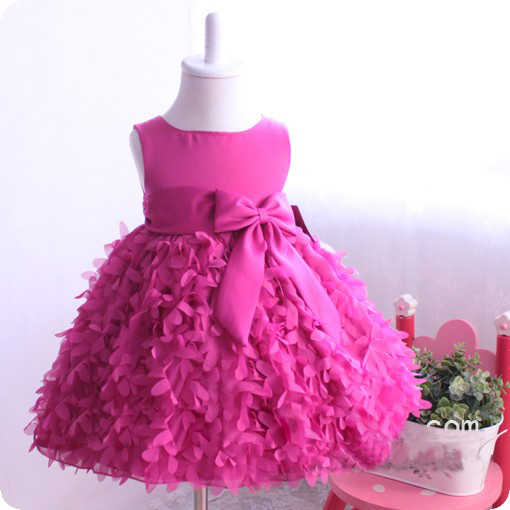 Aliexpress.com : Buy 2015 Fashion Baby Girl Party Dresses Pink ...