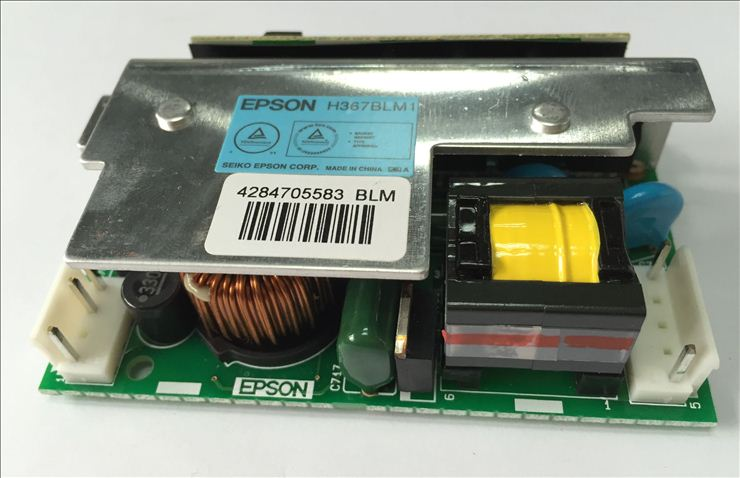 NEW Original H367BLM1(Blue label) ballast board for Epson EB-C05S / EB-C10SE / EB-C15S / EB-C20X / EB-C25XE ...Power board new original h310blm white label ballast board for epson series projectors