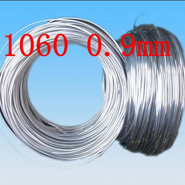 09mm 1060 pure aluminium wiresilver aluminum craft wire 20 gauge 09mm 1060 pure aluminium wiresilver aluminum craft wire 20 gauge jewelry making beading greentooth Image collections