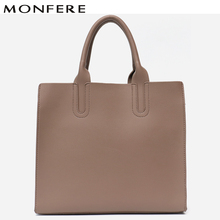 c0ee01c179 MONFERE Vegan Leather Handbags Large Tall Women Bag High Quality Casual  Female Baby Bags Trunk Tote
