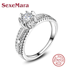 925 Sterling-Silver-Jewelry claddagh Rings for Women Infinity Micro Pave Female Wedding Anillos Plata Mujer JZ67 anel feminino