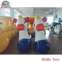 Игрушки отказов надувные Лошадь Прыгает rider для гонок, 6 шт. надувных маленькая лошадка для детей и взрослых