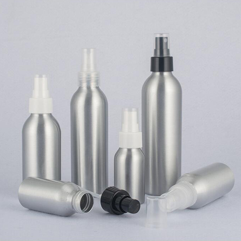 30ml 40ml 50ml <font><b>100ml</b></font> 120ml 150ml Aluminum Perfume <font><b>Bottle</b></font> Hair Salons Deodorant Mist <font><b>Spray</b></font> Atomiser Refillable <font><b>Bottles</b></font> 200pcs/<font><b>lot</b></font> image
