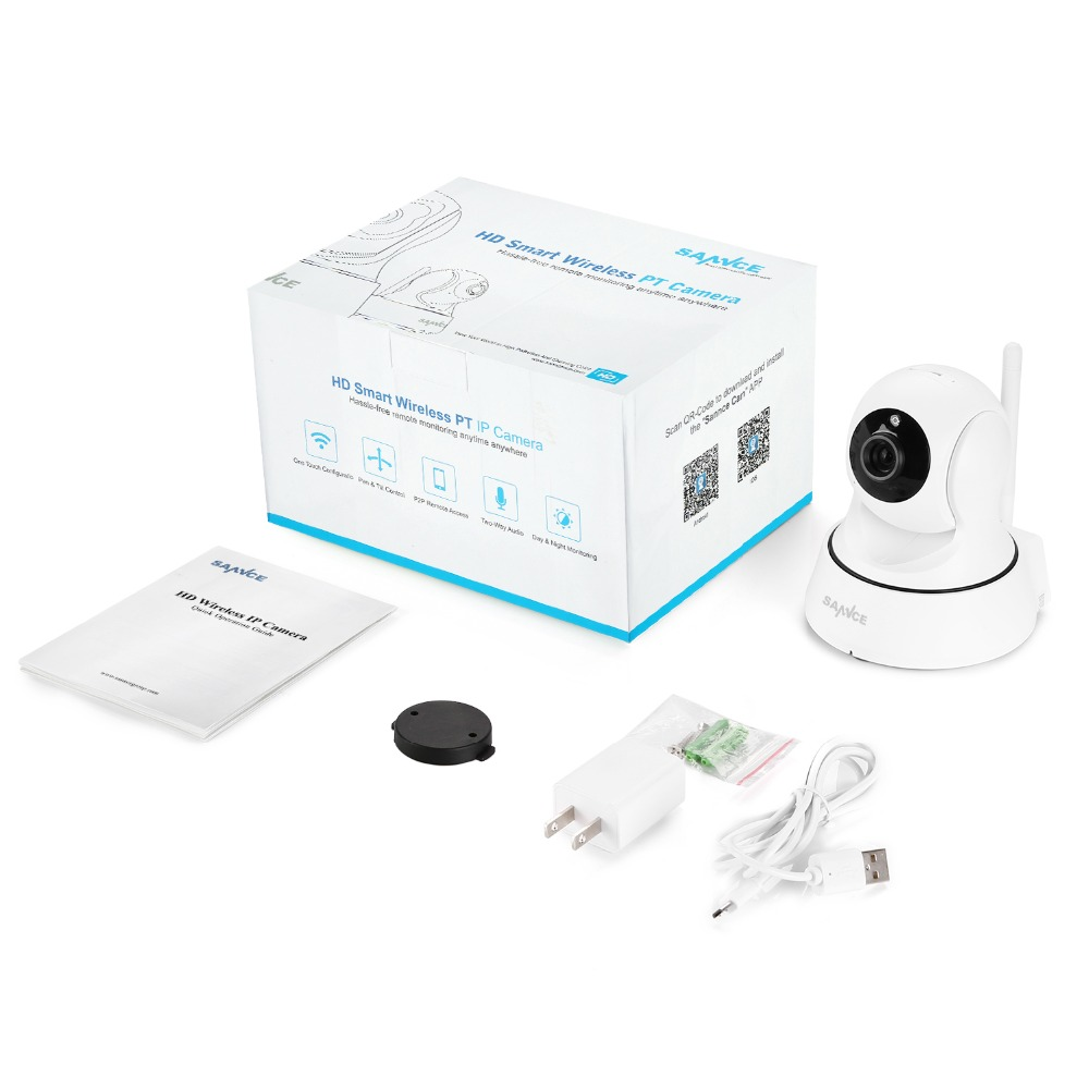 SANNCE HD 720P Cámara IP Wifi Seguridad para el hogar P2P vigilancia - Seguridad y protección - foto 6
