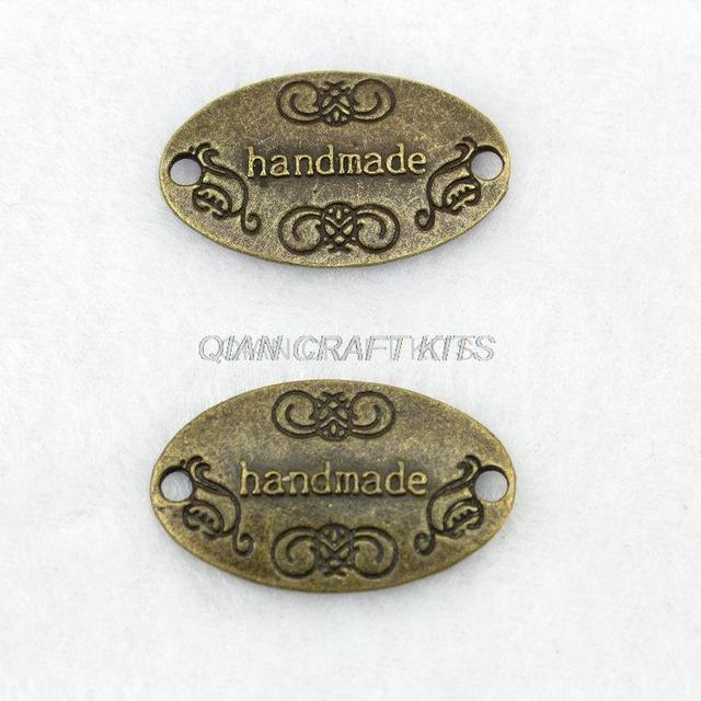 Aliexpress buy 100 charm handmade oval bronze plated victorian 100 charm handmade oval bronze plated victorian pendants beads 2819mm label antique bronze zinc aloadofball Images