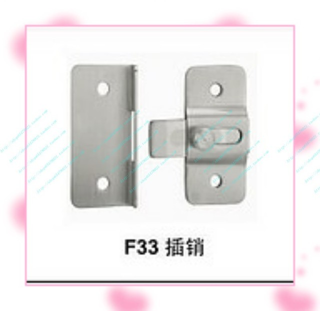 Bathroom partition handle door lock indicator lock hinge