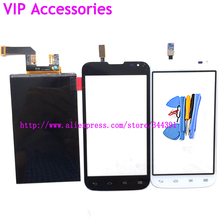 L70 D325 LCD Touch Screen For LG Optimus L70 D325 LCD Screen Display Digitizer Panel With Tools Tracking