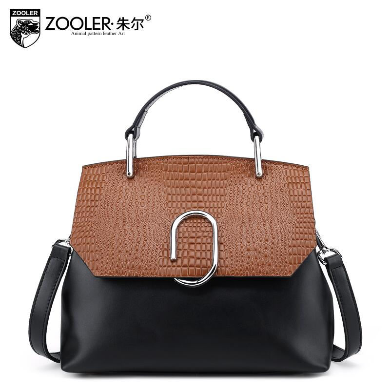 free delivery Genuine Leather  Women bag  2017 new serpentine spell color messenger bag Hit color handbag Small square package