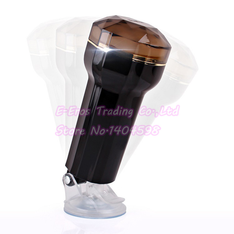 New Handsfree Aircraft Cup Vagina Adsorption Air Pressure Masturbation Devices With Strong Sucker Male Sex Toy For Men male handsfree masturbation cup with sucker realistic vagina roating aircraft cup passion cup man masturbator sex toy for men a3