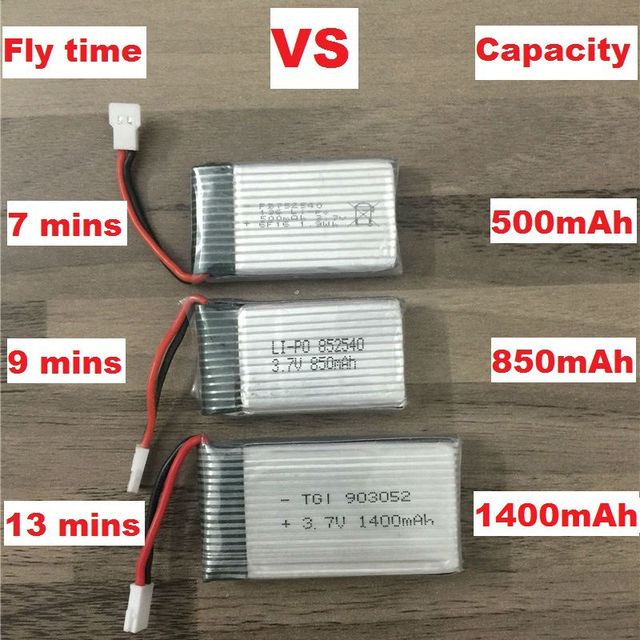 1400mAh 3.7V LiPo Battery + Euro Plug AC Charger for SYMA X5SW X5SC X5HW X5HC XS801 RC Drone Quadcopter Spare Battery Parts