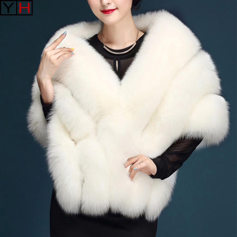 De Gratuite 100 Renard Manteau Grand Châle Châle Réel Naturel Livraison Poncho Black white Femmes Mode Élégant Fourrure qq6rFxE