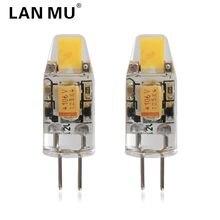 LAN MU G4 LED Lamp COB 0705 Dimmer LED Light AC 12V 3W Lampada 360 Beam Angle Replace Chandelier Lights Halogen Lamps