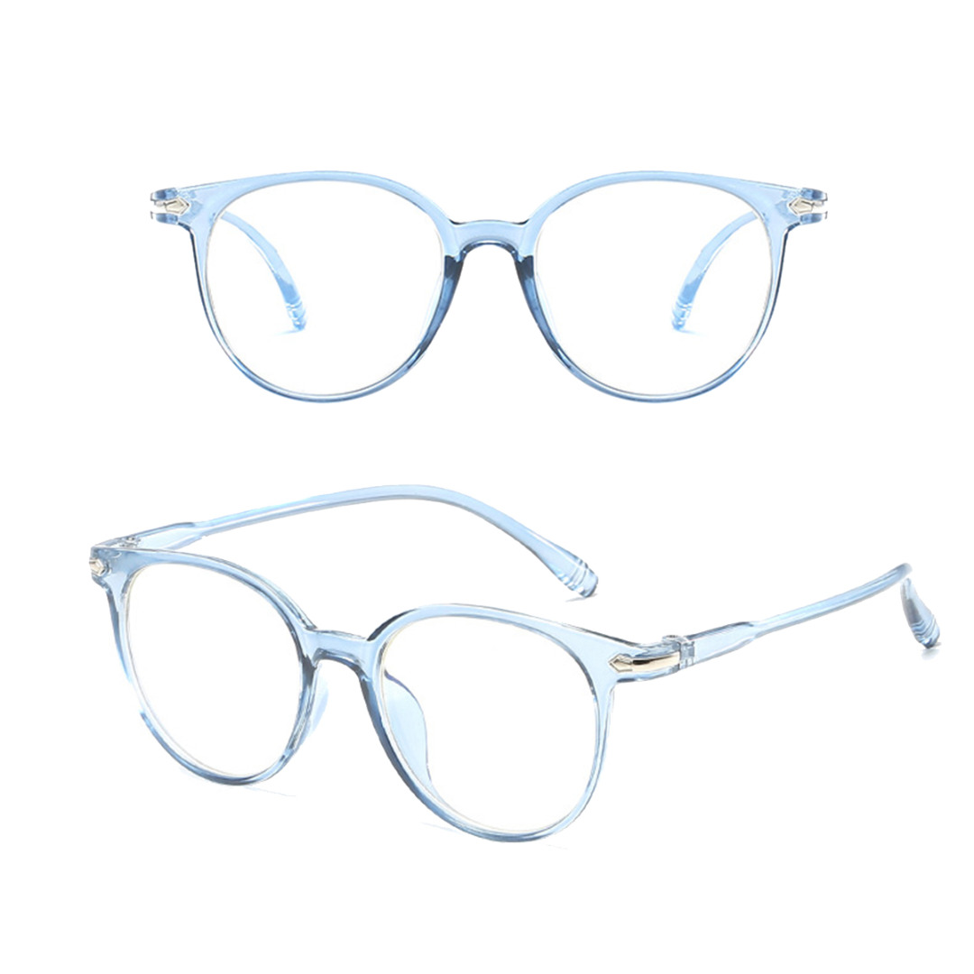 Mayitr Unisex Blue Light Blocking Spectacles Anti Eyestrain Decorative Glasses Light Computer Radiation Protection Eyewear