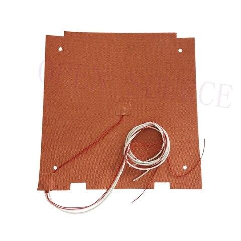 alta qualidade cr 10s pro aquecedor de silicone pad 310x320mm para impressora cr x 3d