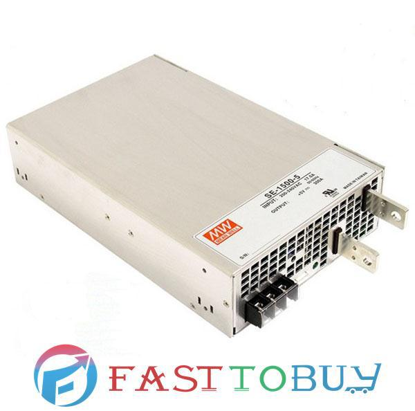 SE-1500-12 MEAN WELL 1500W 12V 125A Single Output Switching Power Supply New [mean well] original se 1500 12 12v 125a meanwell se 1500 12v 1500w single output power supply