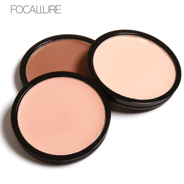 Us 1 99 Focallure Maquiagem Highlighter Bronzer Shading Powder Trimming Powder Makeup Cosmetics Long Lasting Bronzer Concealer 4 Colors In Bronzers