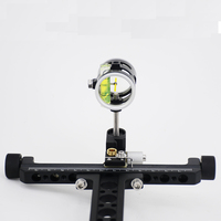 Ourpgone Brand Recurve Bow 1 Pin Bow Sight 0.059 Fiber Sight Archery Compound Bow Sight For Hunting And Archery+Free shipping!