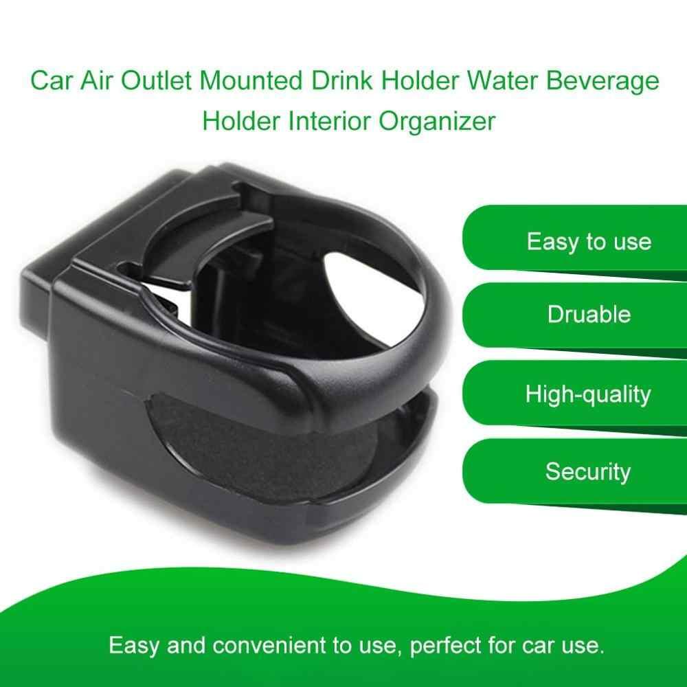 """Outlet Udara Mobil Kendaraan Mounted Pemegang Minuman Air Minuman Pemegang Rak Minum Cangkir Holder Bracket Interior Organizer"""