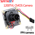 SMTKEY HD ir-cut 1200TVL CMOS FPV Camera 3.6mm lens mini Aerial Camera board camera with cable connection to plane