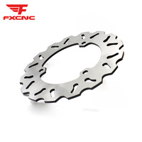 FXCNC Stainless Steel Motorcycle Rear Brake Disc Disks Rotor Motorbike Brake Disk For Yamaha R25 R3 YZF R25 YZF R3 2015 2016