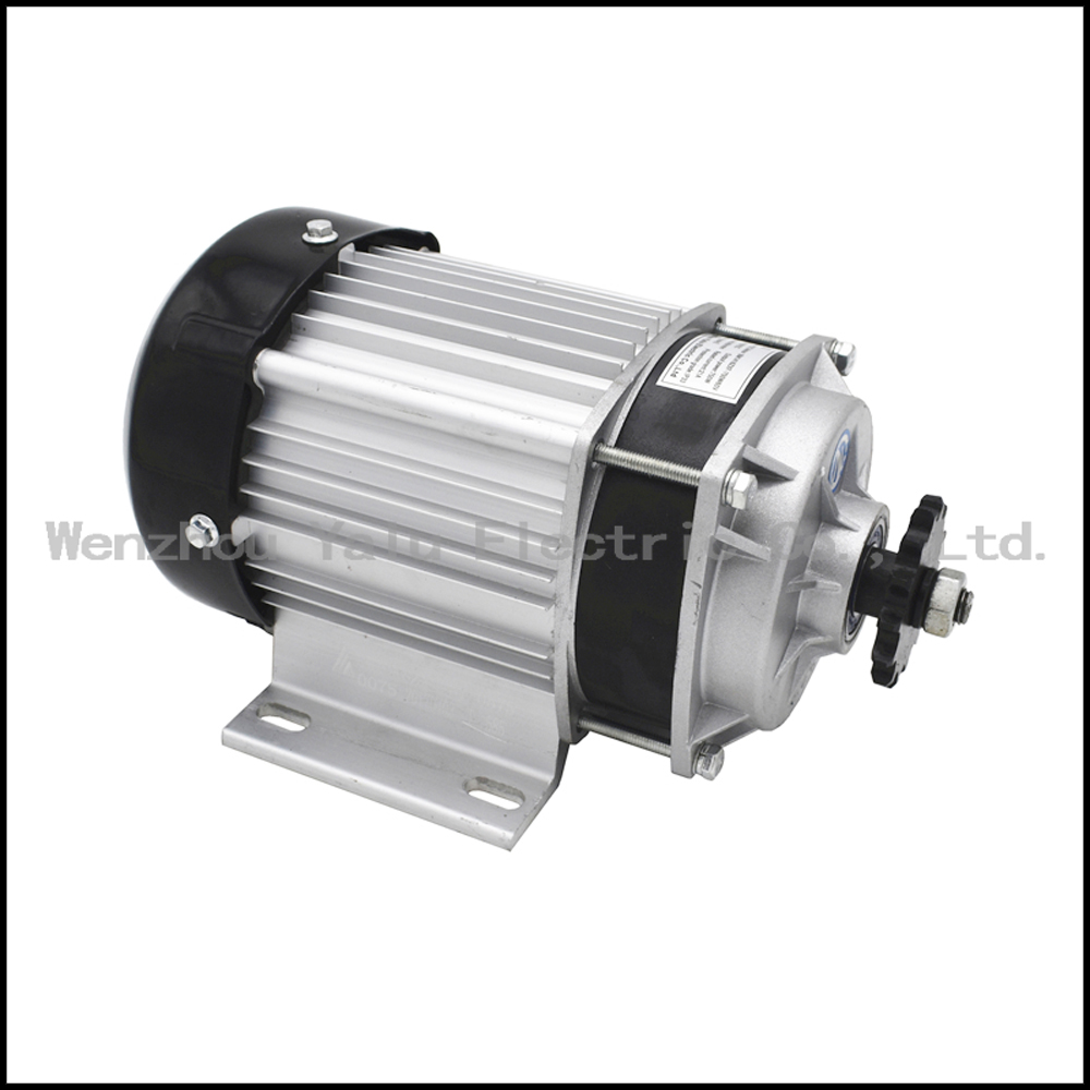 Купить с кэшбэком Mid Holzer sprocket reducer motor BM1418ZXF650W48/60V small motor tricycle