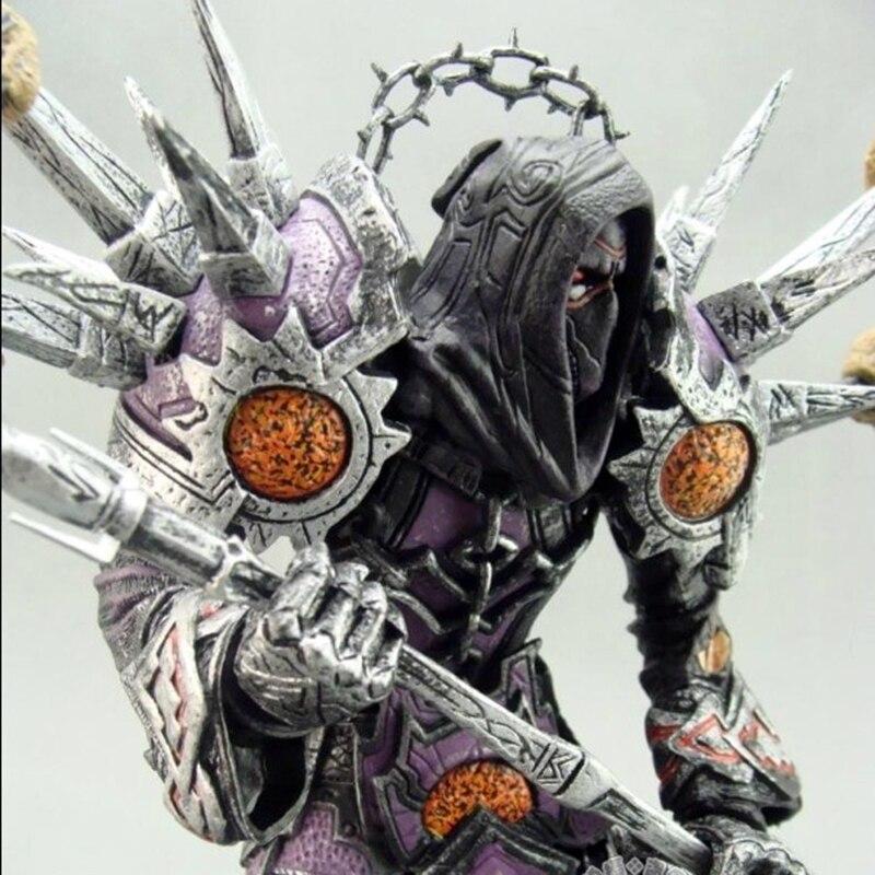 Online Game WOW Series1 Undead Warlock Meryl-Felstrom Toy Figure Figurine Doll PVC Collection 19cm