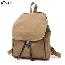 Мода рюкзак Для женщин случайные холст рюкзаки для девочек-подростков школьные Ретро путешествия Сумки на плечо с строка