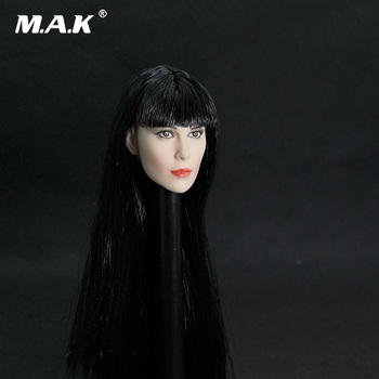 Collectible 1/6 Middle Eastern Beauty Girl Head Sculpt Egyptian Princess Lenka Kripac Head Carved Model for 12'' Action Figure