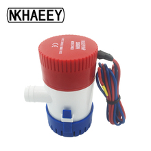 Submersible Bilge Pump 1100GPH DC 12V 24V electric pump water pump used in boat seaplane motor стоимость