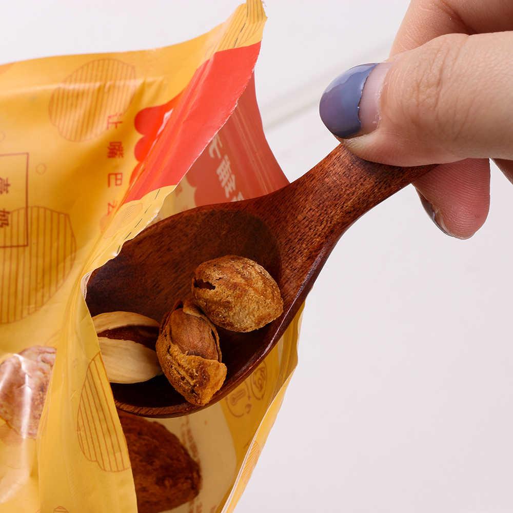 1/2 pièces bois Condiment Scoop couverts café thé petite Mini cuillère à sucre sel bois cuillères outils de cuisson Gadgets de cuisine 2020 Hot