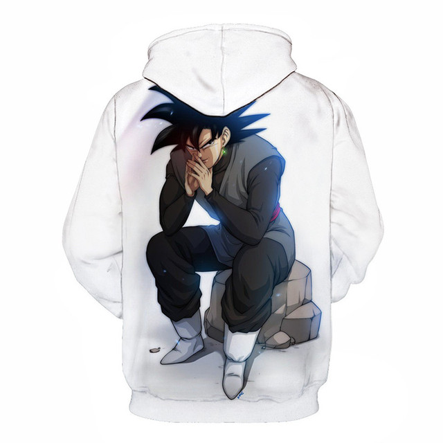 Dragon Ball Z Super 3D Printed Pullovers Sweatshirts Hoodie
