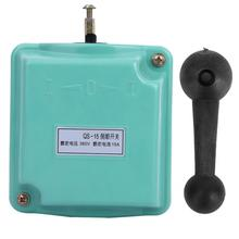 цена на QS-15 380V 15A Forward Reversing Drum Switch Reverse Motor Changeover Switch Low Error