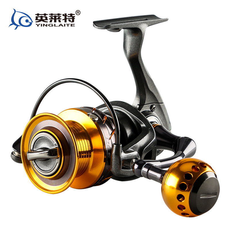 YLT Deep sea game reel heavy duty spinning jigging reel full metal handle 25kgs drag power