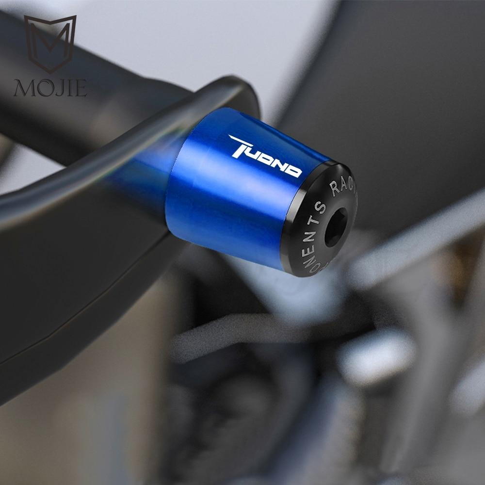 Motorcycle 22MM Handlebar Hand Grips Handle Bar End Cap For Aprilia TUONO V4R 11-16 TUONO V4 1100RR FACTORY 17-18 TUONO R 03-09