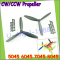 4pcs/lot Clover 5045 6045 7045 8045 CW/CCW Propeller for multicopter quadcopter FPV (2 pair)