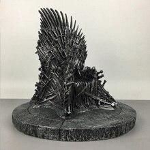 Grande Taille Fer Trône Game of Thrones Résine Moderne Statue jouet 36 cm Action & Chiffres Sculpture Haute Qualité Jouets De Noël cadeau