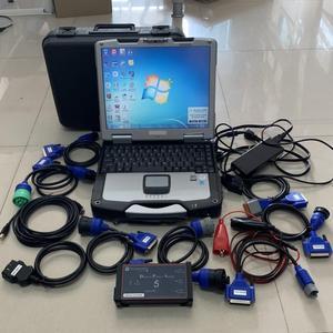Dearborn протокол Adapter5 тяжелых грузовиков сканер DPA5 без Bluetooth диагностический инструмент программное обеспечение компьютер cf30 ноутбук 4g