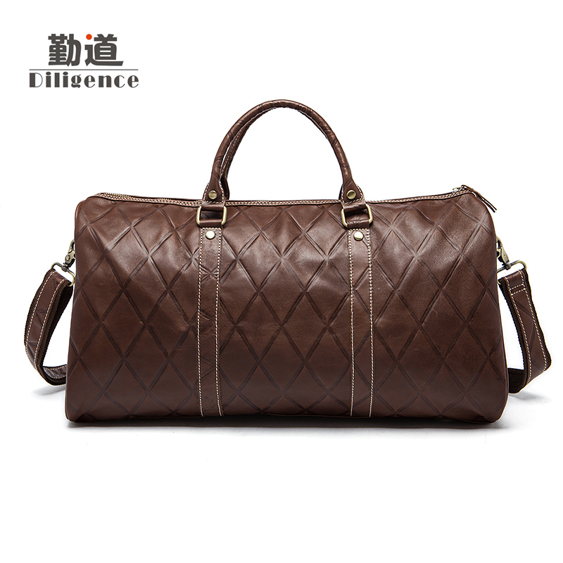 Genuine Cowhide Leather Man Bags Large Capacity Men Travel Luggage Bag Vintage Shoulder Crossbody Duffel Multifunctional Bags 2013 male commercial travel bag genuine leather men luggage travel bags shoulder large capacity cowhide business bag items tb17
