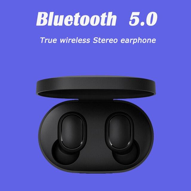 Xiaomi airdots Redmi Airdots TWS inalámbrica auricular con Control de voz Bluetooth 5,0 de reducción de ruido de Tap Control 1