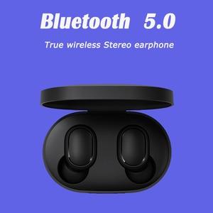 Image 2 - Xiaomi airdots 2 tws Redmi Airdots s TWS אלחוטי אוזניות קול בקרת Bluetooth 5.0 רעש הפחתת שליטה ברז