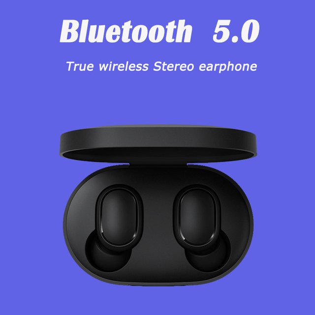 xiaomi airdots Redmi Airdots TWS Wireless earphone Voice control Bluetooth 5.0 Noise reduction Tap Control 1