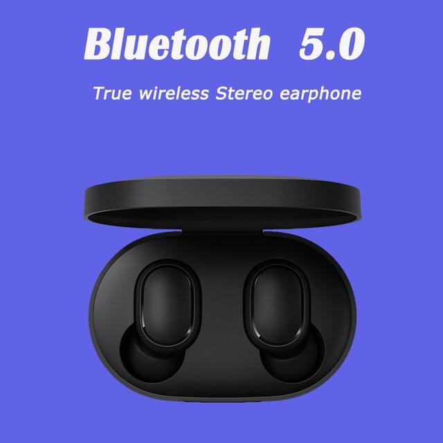 xiaomi airdots s tws Redmi Airdots TWS Wireless earphone Voice control Bluetooth 5.0 Noise reduction Tap Control 1