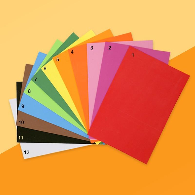 10pcs Lot Foam Sheets 9x12 Thickness Basic Colors