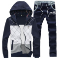 Hot Sale Zipper Spring Autumn Men SuitS Men's Tracksuit 10 Colors Men's Casual Hoodies And Pants M-5XL