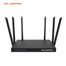 New 1750Mbps AC WIFI Router COMFAST 2.4G+5.8G Enginering AC Manage router 1Wan 4Lan 802.11ac access point wi fi router Open WRT(China (Mainland))