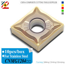 EDGEV CNC torna araçları Karbür Insert CNMG120404 CNMG120408 CNMG431 CNMG432 Tungsten Bıçak paslanmaz çelik