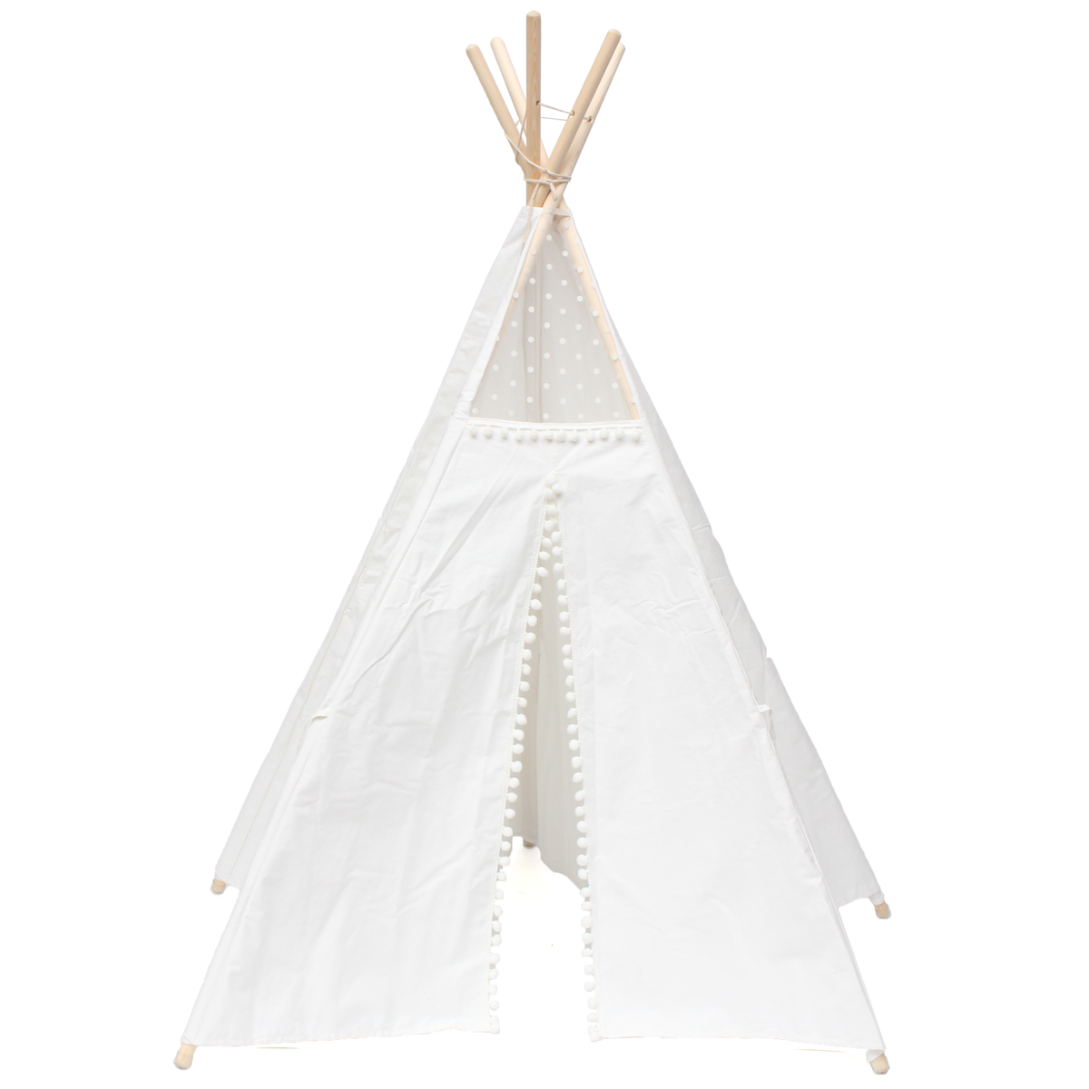 Large Cotton Canvas Original Teepee Kids Teepee With Indian Play Tent House Children Outdoor Indoor Tipi Tee Pee Tent WhiteLarge Cotton Canvas Original Teepee Kids Teepee With Indian Play Tent House Children Outdoor Indoor Tipi Tee Pee Tent White