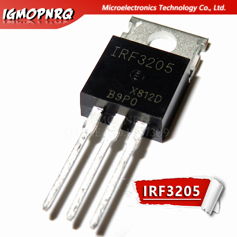 10pcs Free Shipping IRF3205 IRF3205PBF MOSFET MOSFT 55V 98A 8mOhm 97.3nC TO-220 New Original(China)