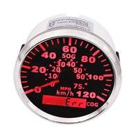 3 3/8 Digital 120KMH Car Speed Gauge Motorcycle Marine Speedometer Meter for ford focus 2 bmw e46 bmw e90