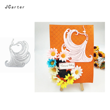 JC 2019 New Arrival Peacock Queen Metal Cutting Dies for Scrapbooking DIY Embossing Folder Cards Stencil Handmade Album Crafts